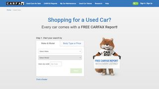 Used Cars for Sale | with Free CARFAX