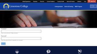 User account   Limestone College