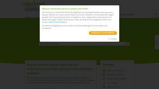 Warum können meine Daten bei der Registrierung auf mein eprimo ...