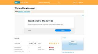 Webmail.ntelos.net: LOGIN - Easy Counter