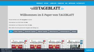 Webpaper Tageblatt