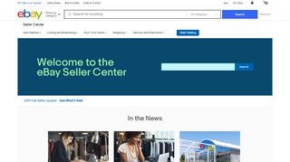 Welcome | eBay Seller Center