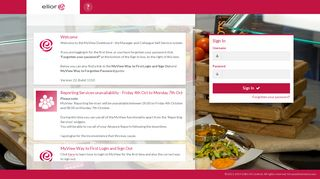 Welcome - Elior MyView Dashboard - NGA Human Resources