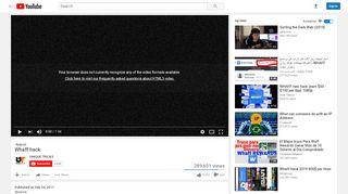 Whaff hack - YouTube