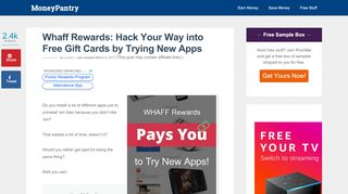 Whaff Rewards: Hack Your Way into Free Gift Cards …