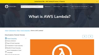 What is AWS Lambda? - educba.com