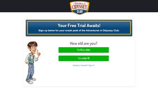 Your Free Trial Awaits! - Member Page