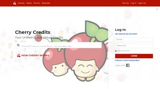 Your Unified Global Virtual Credits - Cherry Credits
