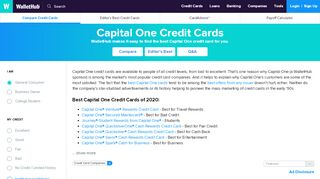 2019's Best Capital One Credit Cards   Editor's Picks - ...