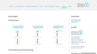 Abmaßungen - Wehmeier's Manufaktur | Schränke & Küchen