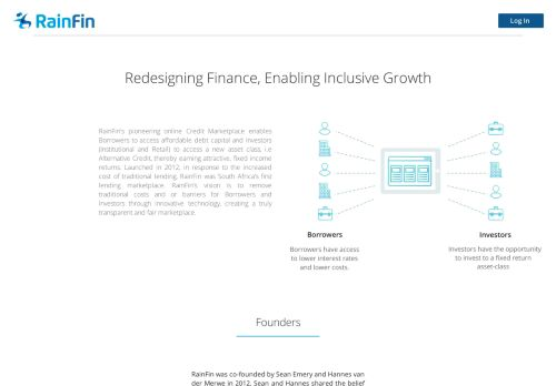 About Us - RainFin