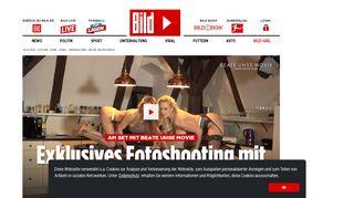 Am Set mit Beate Uhse Movie | Exklusives Fotoshooting mit Angel ...