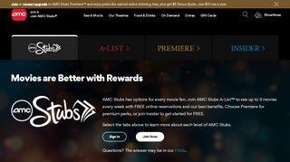 AMC Stubs - Collect Memories. Get Rewards. - AMC Theatres
