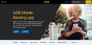 ASB Mobile banking app - iOS, Android & Apple   ASB