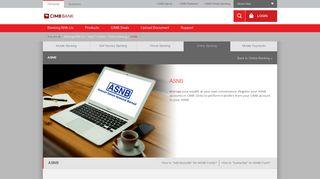 ASNB - CIMB