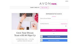 Avon Representative Sign In