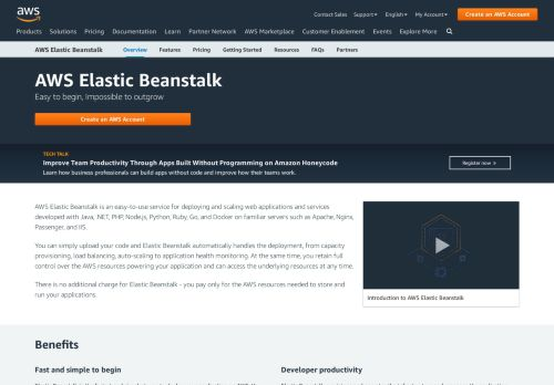 AWS Elastic Beanstalk – Deploy Web Applications - ...
