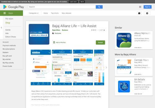 Bajaj Allianz Life – LIFE ASSIST - Apps on Google Play
