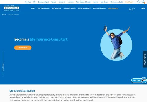 Become An Agent   Bajaj Allianz Life Insurance