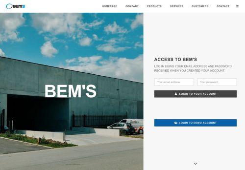 BEM'S SA +32(0)10.24.85.85   Distributor Video games and ...