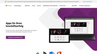 Benutzerdefinierte Business-Apps erstellen | Microsoft PowerApps