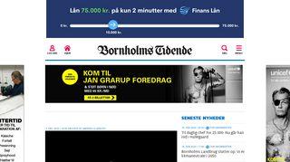 Bornholms Tidendes epaper Læs avisen online » Bornholms Tidende