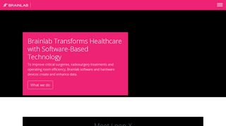 Brainlab: Medical Software and Hardware Innovators