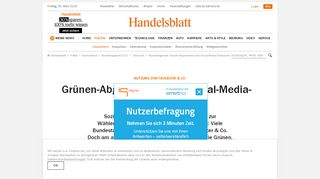 Bundestagswahl: Grünen-Abgeordnete sind Social-Media-Champions