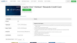 Capital One Venture Rewards Credit Card - Credit.com
