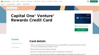Capital One® Venture® Rewards Credit Card - NerdWallet