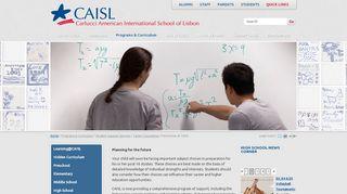 Carlucci American International School of Lisbon: Futurewise at CAISL