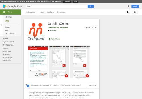 CedolinoOnline - App su Google Play