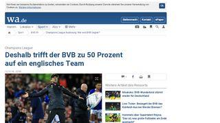 Champions League Auslosung: Wer wird BVB Gegner?   BVB 09