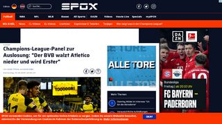 Champions-League-Panel zur Auslosung: