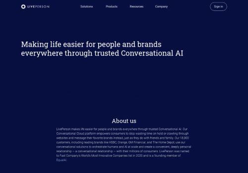 Company | LivePerson
