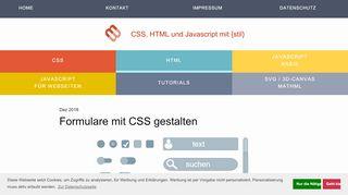 CSS für Formular-Eingabefelder | mediaevent.de