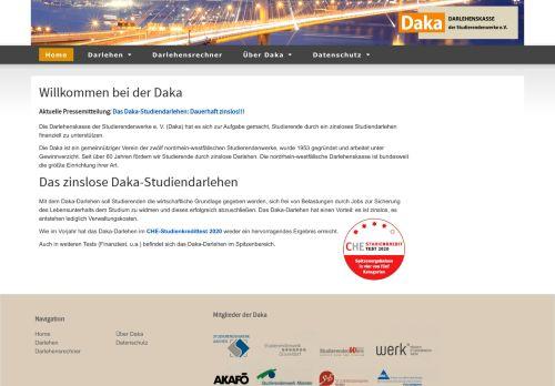 Daka-Darlehen :: Studierendenwerk Aachen AöR