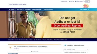 Downloads - Unique Identification Authority of India ... - Uidai