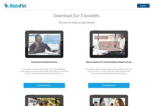 E-booklets - RainFin