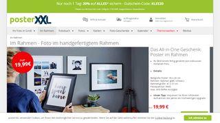 Einrahmen: Foto, Poster & Leinwand mit Rahmen bei posterXXL