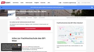 Fachhochschule des BFI Wien - iamstudent