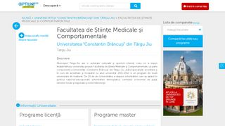 Facultatea de Științe Medicale și Comportamentale | Universitatea ...