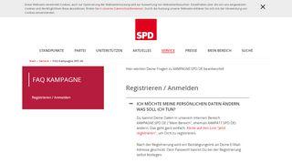 FAQ KAMPAGNE - SPD
