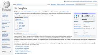 FH Complete – Wikipedia