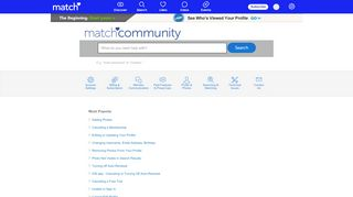 Find Answers : Match