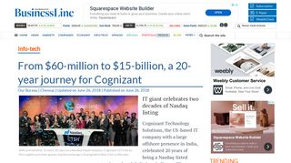 From $60-million to $15-billion, a 20-year journey for Cognizant - The ...