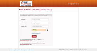Fund Login - ICICI Prudential Mutual Fund