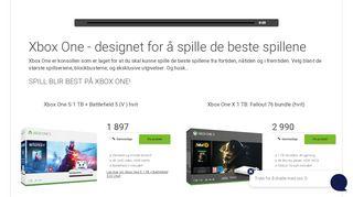 Gratulerer med ny Xbox One - Elkjøp