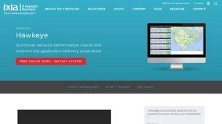 Hawkeye - Network Performance Monitoring   Ixia