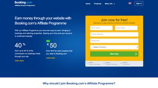 Hotel Affiliate Program by Booking.com – Earn Money on Your Website